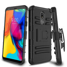 New listing For Lg Stylo 5/5V/5 Plus Phone Case Shockproof Kickstand Belt Clip Holster Cover