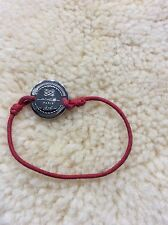 Tres beau bracelet Cordon rouge Lancel authentique
