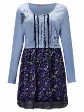 New Ladies Joe Browns Magical Tunic Blue Purple Floral Print Top Plus Size 12-28