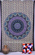 Indian Hippie Twin Tapestry Bohemian Decor Elephant Mandala Printed Wall Hanging