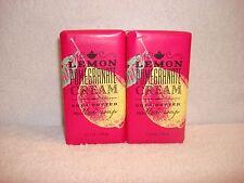 2 Bath & Body Works Lemon Pomegranate Cream Shea Butter Milled Soap Bars 5.5 oz