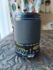 Carl Zeiss Jena 70-210mm 1:4-5.6 MC Macro Jenazoom Super For Nikon F MF SLR Rare