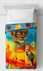 The Lion King Twin Comforter Blue Twin