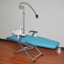 Portable Dental Mobile Folding Chair Unit + Water Supply System + LED Light HOT