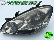 Toyota Avensis Verso From 01-04 Head Light Passenger Side ( Breaking For Parts)