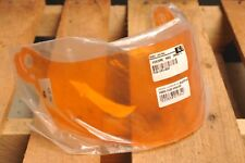 Genuine Suomy Motorcycle Helmet Visor/Shield KAFPVO Race Orange 141024 Fazer