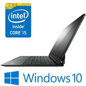 "Lenovo ThinkPad Helix Intel i5 3427U 4G 180 SSD Modem 11.6"" FHD Touch Win 10 Pro"