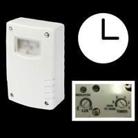 Dämmerungsschalter Lichtsensor IP44 automatisch Lichtschalter Schaltuhr Uhr 230V