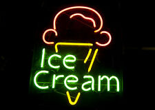 "New Ice Cream Shop Open Beer Bar Pub Neon Light Sign 19""x15"""