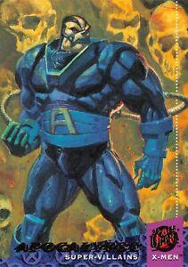 APOCALYPSE / X-Men Fleer Ultra 1994 BASE Trading Card #60
