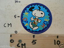 STICKER,DECAL SNOOPY SHOES BLUE