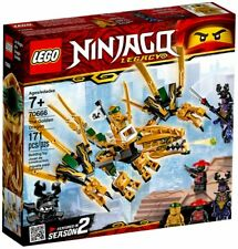 LEGO - NINJAGO - 70666 - LE DRAGON D'OR
