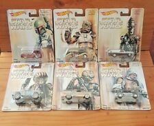 Hot Wheels 2017 Pop Culture STAR WARS BOUNTY HUNTER SERIES complete set 6 (A+/A)