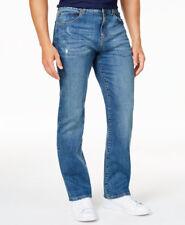 $250 CLUB ROOM mens STRAIGHT LEG FIT JEANS BLUE STRETCH DENIM PANTS 34 W 30 L
