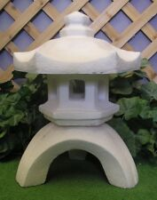 Medium Oriental Pagoda Lantern Latex Fiberglass Production Mold Concrete