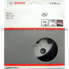 Bosch SOFT Sanding Backing Pad Rubber Base Plate PEX 12 125 A AE 2 608 601 063
