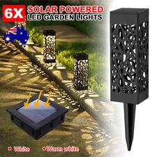 Upto12X Garden Solar Sensor Lights LED Lamp Lawn Yard Outdoor Path Dancing New