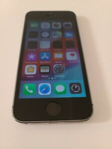 Apple iPhone 5s - 16GB - Space Gray (TracFone) A1453 - Tested and Working