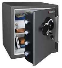 Gray Commercial Fire Safe, 1.23 cu. ft. Capacity, Sfw123Deb, Sentry Safe