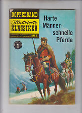 Illustrierte Klassiker Doppelband Nr. 1 Harte Männer Bildschriften Verlag BSV