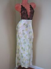 Victoria's Secret Designer Collection Island Silk 100% Long Gown Slip L NWT