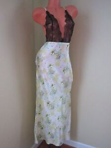Victoria's Secret Designer Collection Island Silk 100% Long Gown Slip S/P NWT