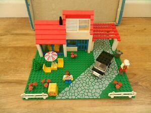 Lego Town – 6349 Holiday Villa – Complete - Vintage Set - 1988