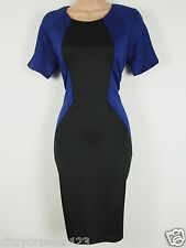 BNWT Ax Paris Curve Bodycon Optical Illusion Wiggle Pencil Dress Size 16 RRP £50