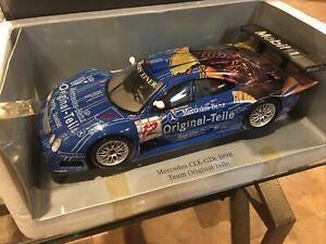 1:18 Die-cast Mercedes-Benz CLK GTR 1998 Mobil 1 Team Original Teile