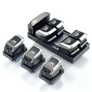 AUDI A4 S4 A5 S5 Q5  pulsanti interruttori tasti Finestrini Cristalli S Line