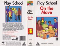 ABC PLAY SCHOOL ON THE MOVE VHS PAL VIDEO~ A RARE FIND