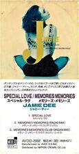 "JAMIE DEE (Marina Rei) Special Love / Memories RARO 3"" CD Single JAPAN Snap Pack"