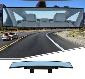 PANORAMIC Rear View Mirror 300mm Wide Angle Convex Blind Spot Car Safety Truck
