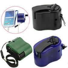 USB Mano Manovella Cellulare Emergenza Caricabatterie Manuale Dinamo Per MP4 MP3