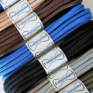 Strong Round Work Hiking Boot Laces - Lengths 60 cm to 180 cm - Made in England