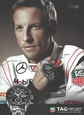 TAG Heuer Carrera Calibre Watch 2013 Stylish 1-page Magazine Ad - Jenson Button