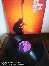 U2 - Under A Blood Red Sky Original 12� Mini Lp Live Excellent Tested