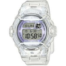 Ladies Casio Baby-g Alarm Chronograph Watch Bg-169r-7eer