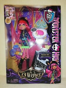 Monster High Howleen Wolf - 13 Wishes 2012 BNIB. IMPERFECT BOX =AN OPPORTUNITY!