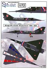 Syhart Decals 1/72 French MIRAGE IVP 40th Anniversary F.A.S. 1964-2004