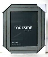 1 Count Foreside Home Garden 8 In X 10 In Gray Heartland Wood Photo Frame