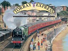 Torbay ESPRESSA FLUSSO treno motore SPIAGGIA città grande in metallo