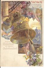 Cloche Glocke bell Paques Ostern easter ANGE ENGEL NU NACKT NUDE OSTERFEST 1900