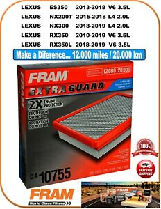 FRAM CA10755 Air Filter-Extra Guard Fit LEXUS ES350 NX200T NX300 RX350 350L