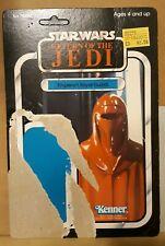 Vintage Star Wars Kenner Figure Cardback!  Royal Imperial Guard! 1982 ROTJ!