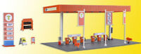 SB Self-Service Gas Station Plastic Model Kit KIBRI 1/87 HO SCALE ADVANCED