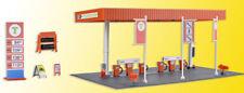 SB Self-Service Gas Station Plastic Model Kit KIBRI 1/87 HO SCALE ADVANCED