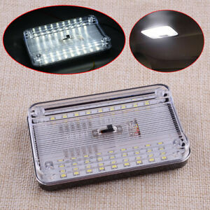 ABS 1x White 36 LED Interior Ceiling Dome Map Roof Reading Light Lamp Universal
