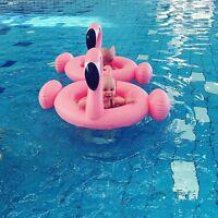 Süß Flamingo Baby Schwimmsitz Babyboot Schwimmreifen Schwimmring Schwimmhilfe