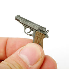 """Dragon Toys 1/6th Weapon Model Automatic Pistol Walther PPK Gun For 12"""" Figure"""